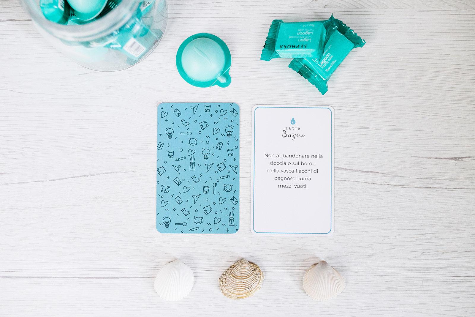 Non farti il mazzo - Le carte per organizzare il bagno