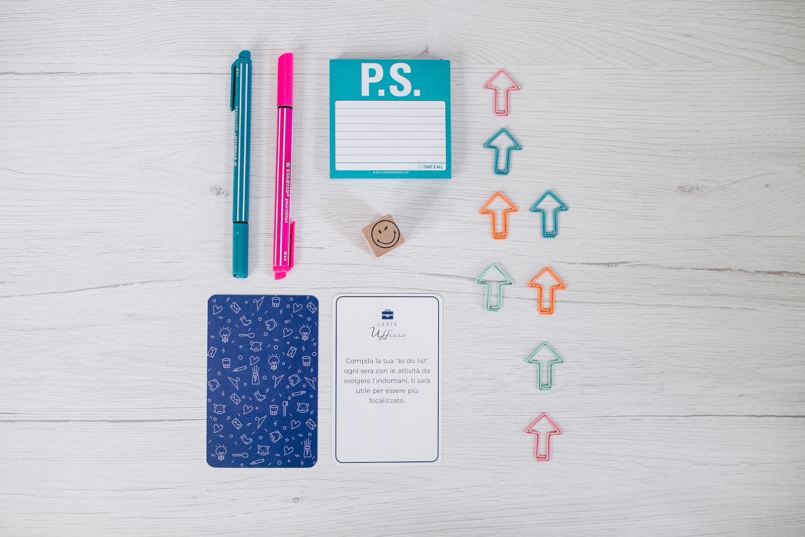 Non farti il mazzo - Le carte per organizzare l'ufficio