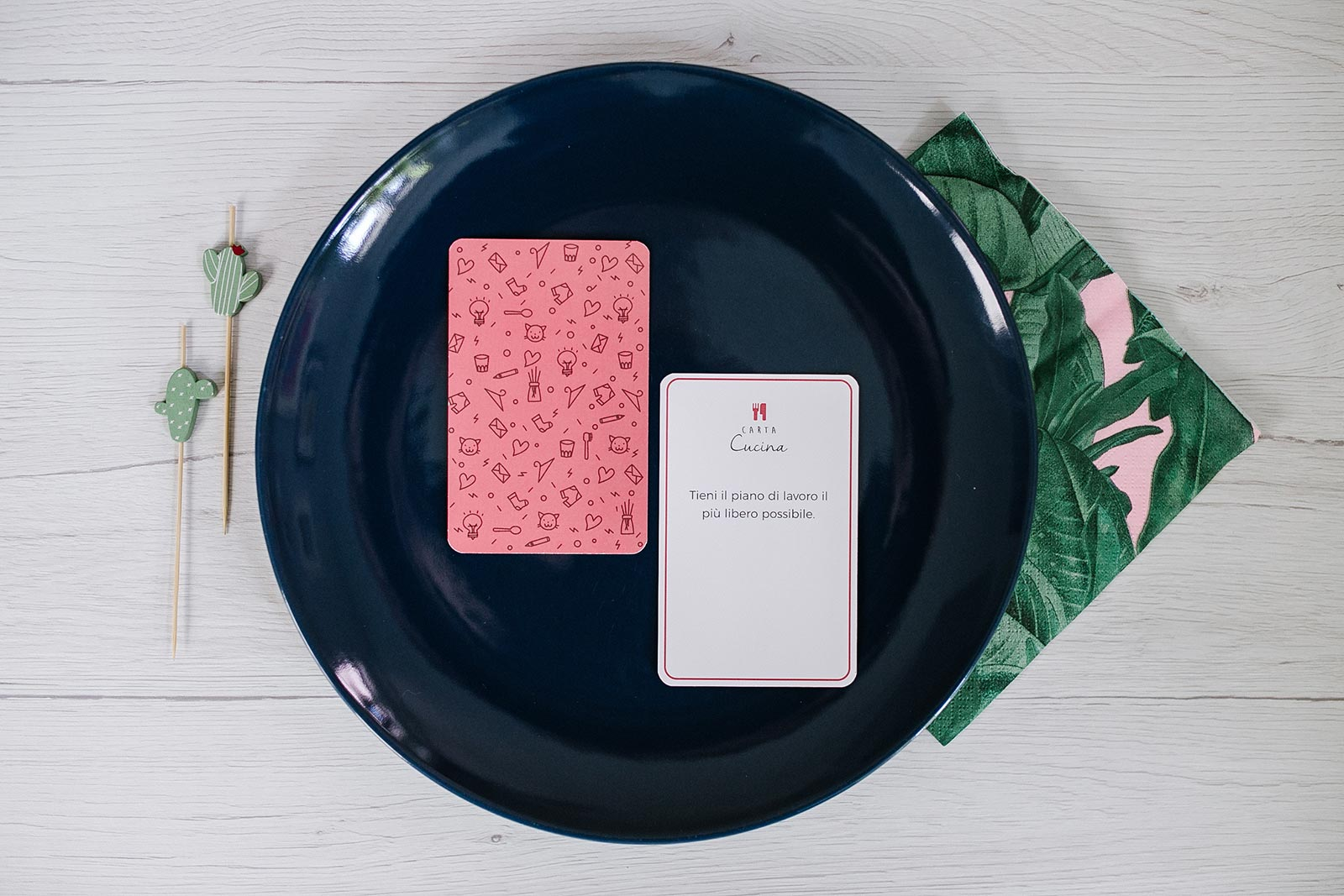 Non farti il mazzo - Le carte per organizzare la cucina